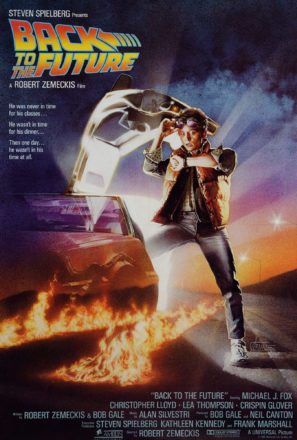 Back to the Future (1985) Movie Poster
