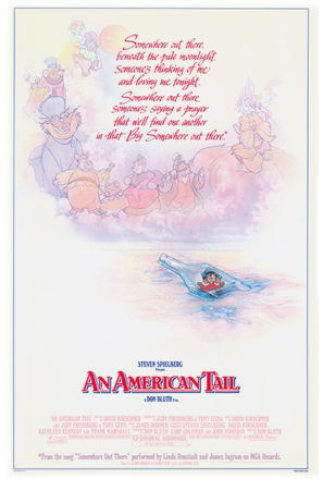 An American Tail (1986) Movie Poster