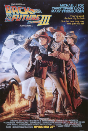 Back to the Future Part III (1990) Movie Poster