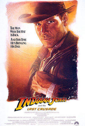 Indiana Jones and the Last Crusade (1989) Movie Poster