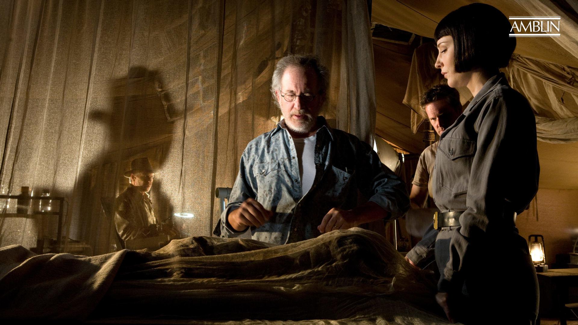 Indiana Jones And The Kingdom Of The Crystal Skull 2008 Steven Spielberg Director Amblin