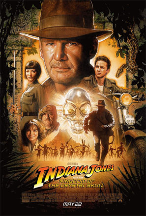 Indiana Jones and the Kingdom of the Crystal Skull (2008) Movie Poster