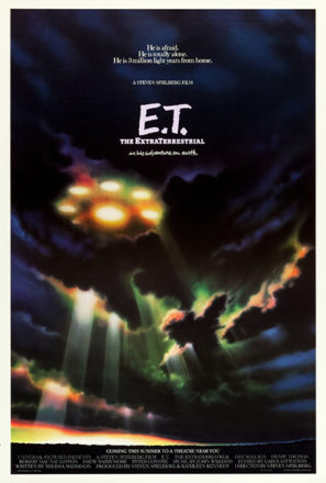 E.T. The Extra-Terrestrial (1982) Movie Poster