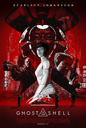 Ghost in the Shell (2017) Movie Poster