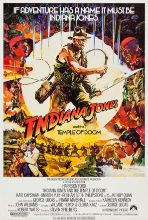 Indiana Jones and the Temple of Doom (1984) Movie Poster