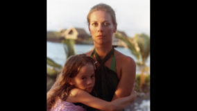 In this exclusive, never-before-seen family photo, Natalie Wood gets a loving embrace from daughter Natasha Gregson Wagner in Kona Village, Hawaii, 1978.