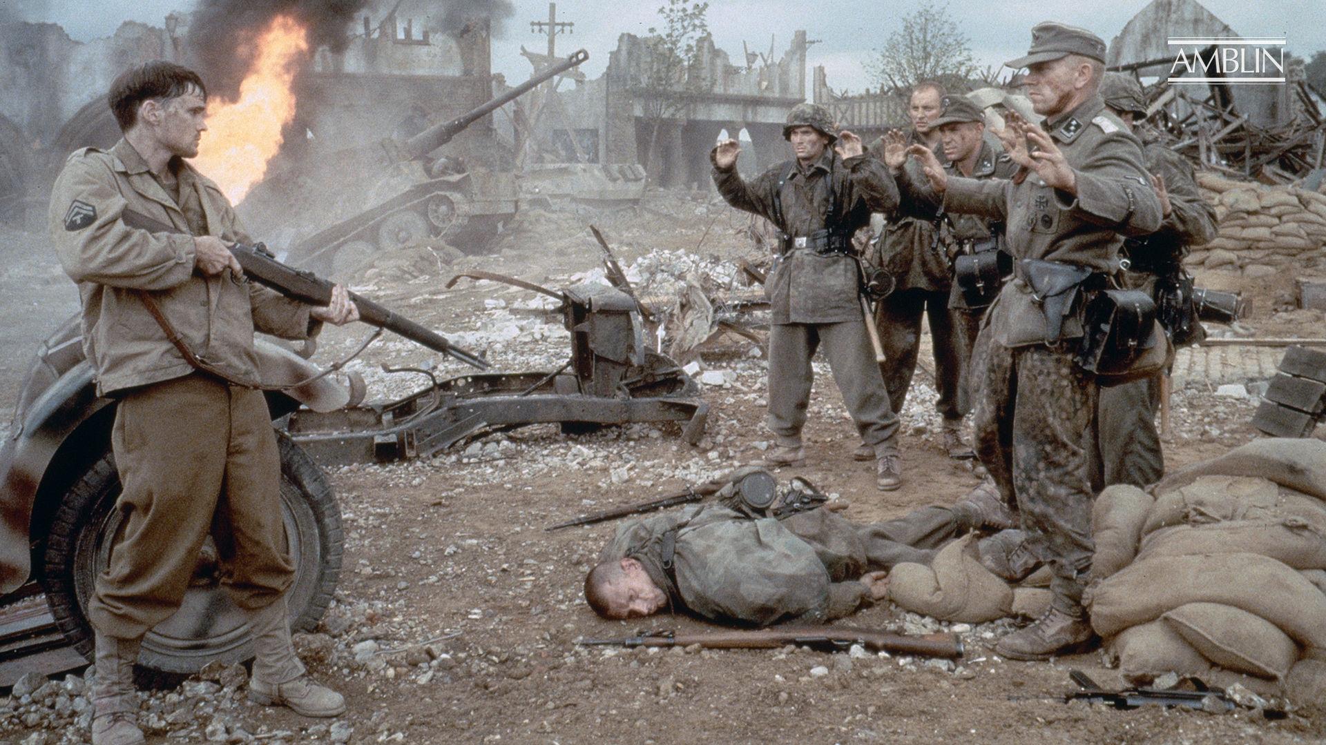 Saving Private Ryan 1998 Steven Spielberg Director Amblin