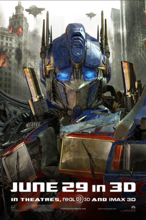 Transformers Dark of the Moon (2011) Movie Poster