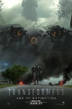 Transformers Age of Extinction (2014) Movie Poster