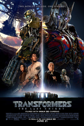 Transformers The Last Knight (2017) Movie Poster