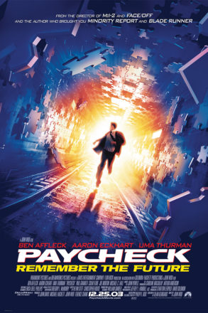 Paycheck (2003) Movie Poster