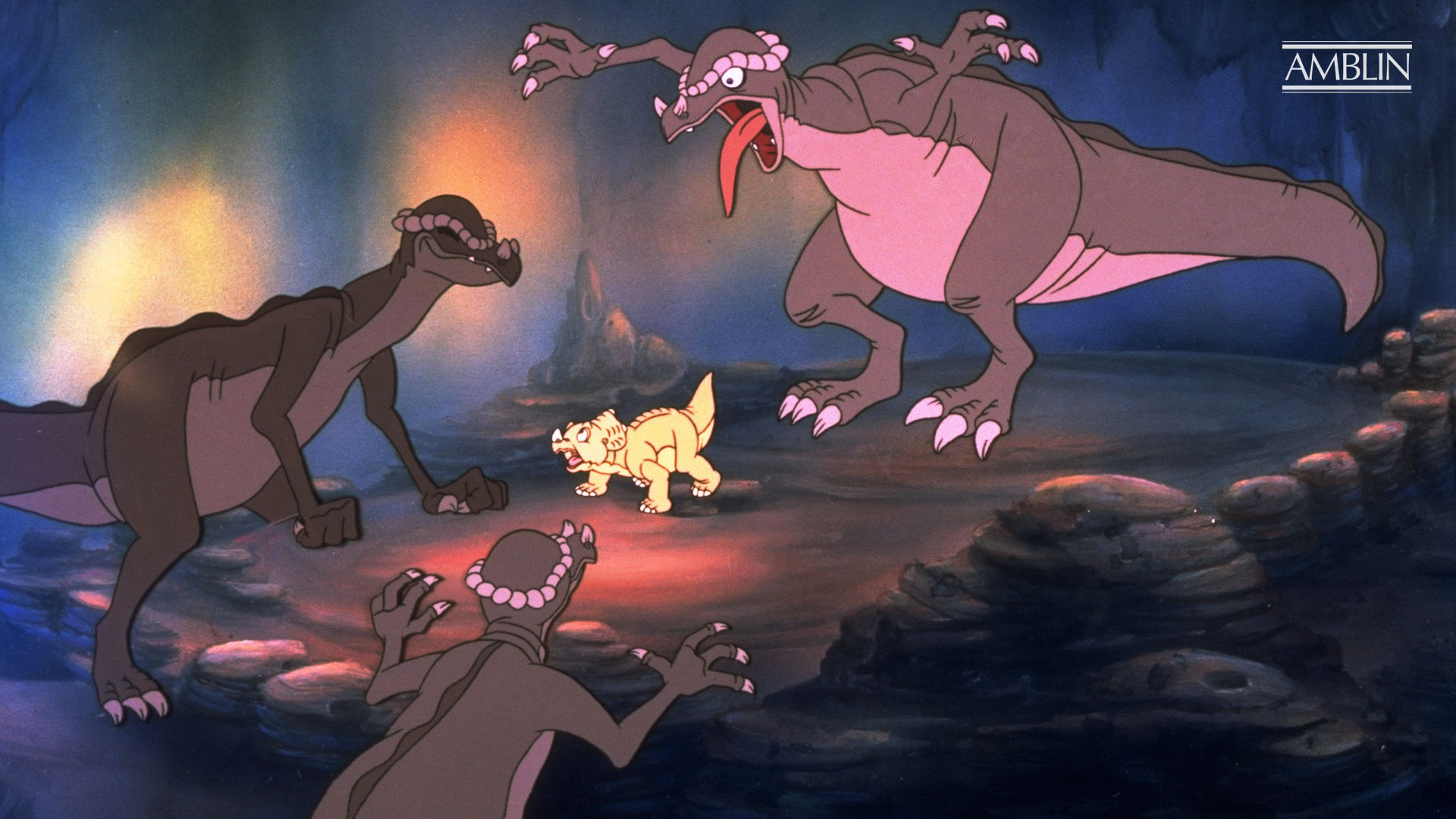 The Land Before Time 1988 About The Movie Amblin