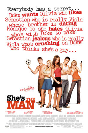 She's the Man (2006) Movie Poster