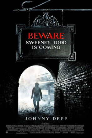 Sweeney Todd: The Demon Barber of Fleet Street (2007) Movie Poster